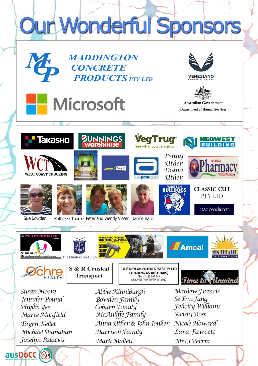 16AusDoCC Conference 2017 program Page15 Sponsors FINAL